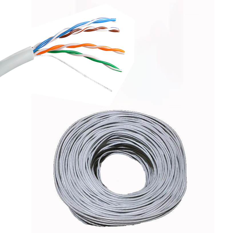CABLE NETWORK OALTIK CAT5 UTP 305m البيع بالربطة ,Network Cables