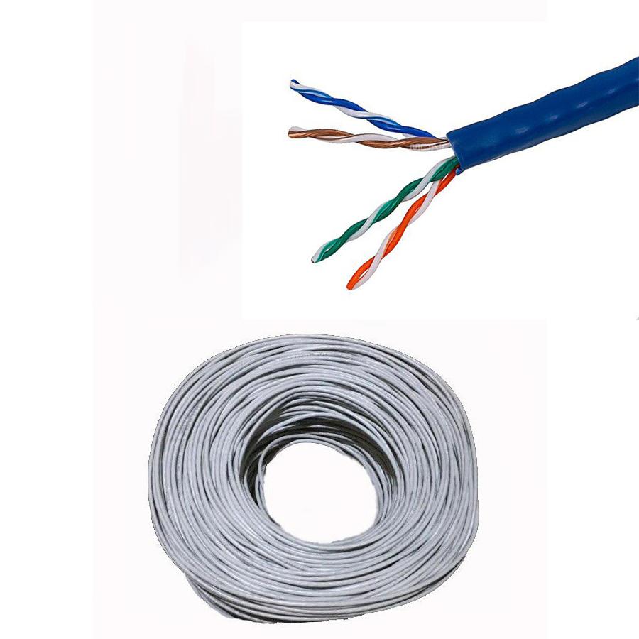 CABLE NETWORK  N-COM CAT5 UTP 305m البيع بالربطة ,Network Cables
