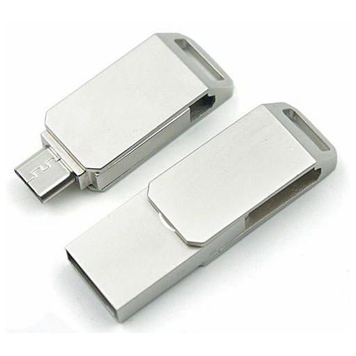 RAM USB 64GB FLASH X-MAX OTG USB2.0 معدنية ,Flash Memory