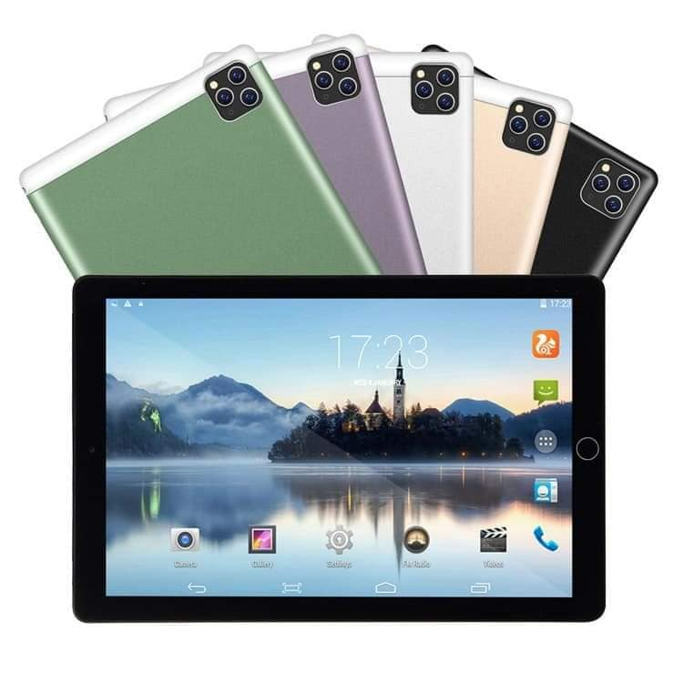 TABLET PC TECH TAB 10.1 IPS QUAD CORE 2GB 32GB 3G SIM 2CAM +PROTECTIVE CASE COLOR غير معرفة ,Display 10 Inch