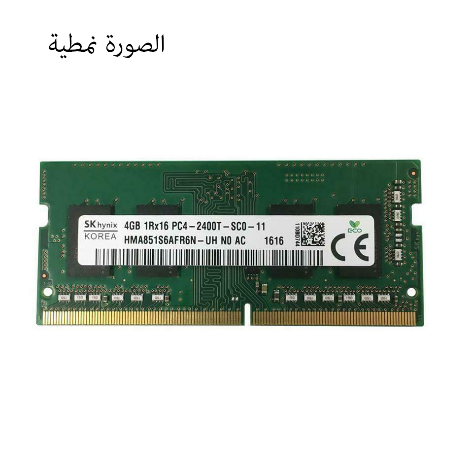 DDR4 4GB PC2400 HYNIX FOR NOTEBOOK  مستعمل ,Other Used Items