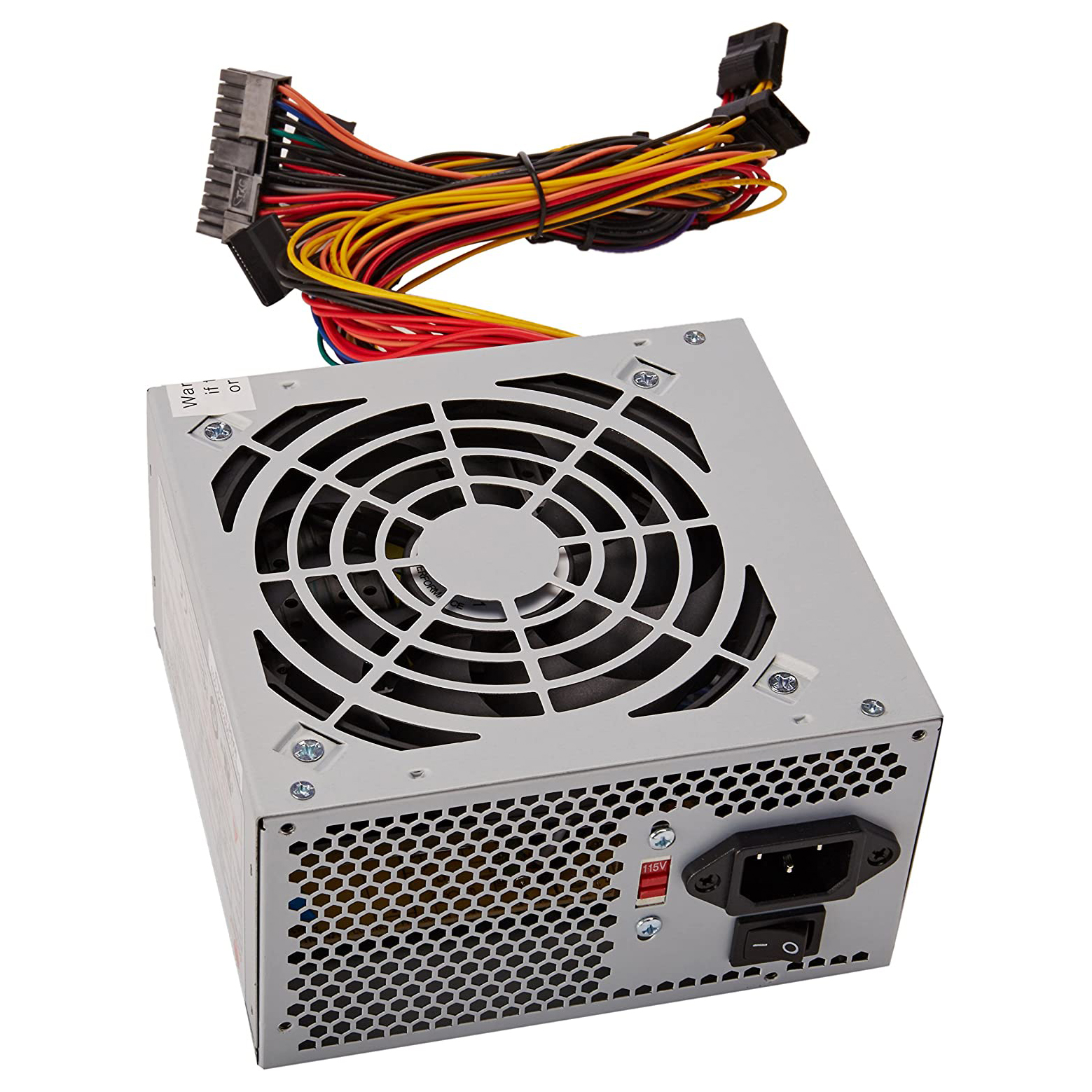 POWER SUPPLY I-NIX ATX 500W 24PIN LGA REAL 200W ,Case & Power Supply