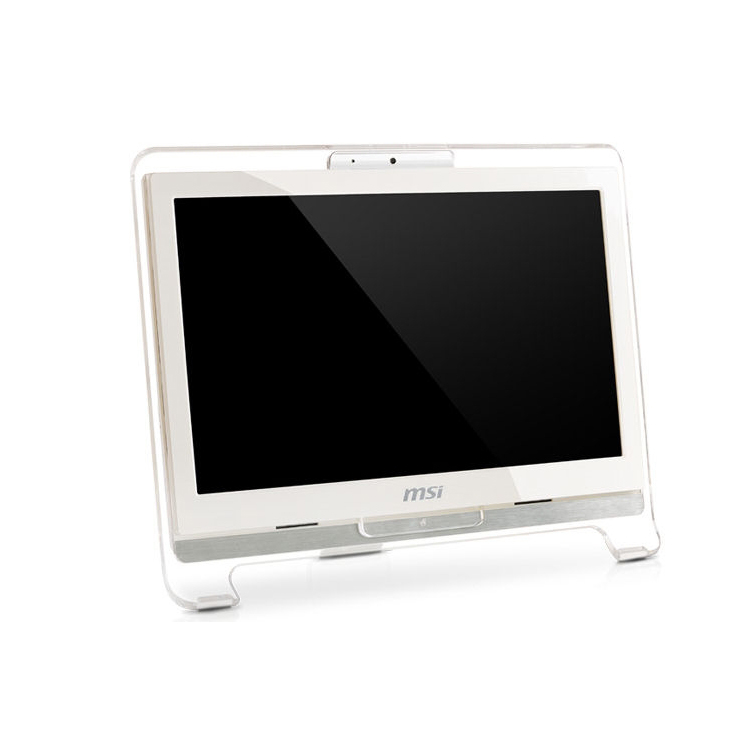 MSI ALL IN ONE AE1900  INTEL ATOM 330 1.6 GH DDR2 2G HDD 250G VGA INTEL GMA950 LCD 18.5 1366 x 768 (WXGA) TOUCH مستعمل بدون سواقه ,Used PC