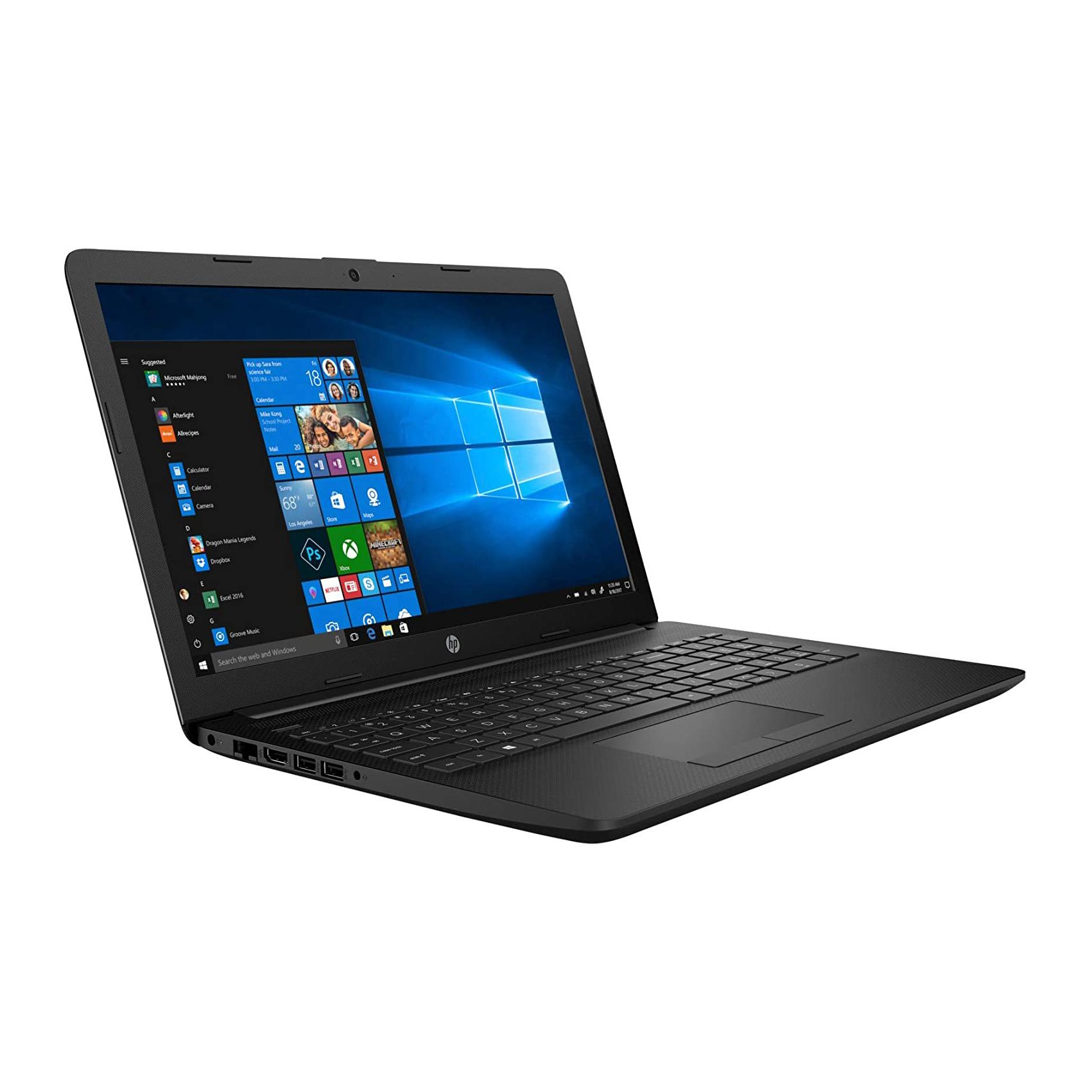 NOTEBOOK HP 15-DB1069AU AMD RYZEN R3-3200U 2.0GHz UP TO 2.6GHz 4M 4G 1T AMD RADEON VEGA 3 15.6 WIN10 BLACK ,Laptop Pc