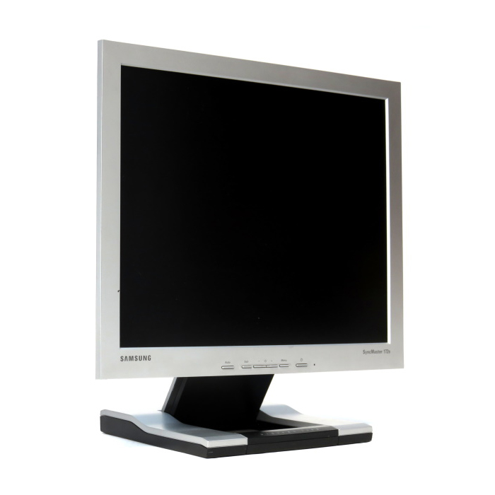 MONITOR LCD 17 SAMSUNG SILVER SYNC MASTER 172 B مستعمل ,Used Monitors