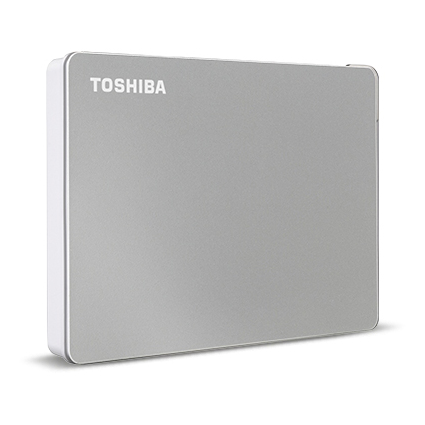 HD 2 TERRA EXTERNAL TOSHIBA CANVIO FLEX USB-C USB3.0 SILVER ,External HDD