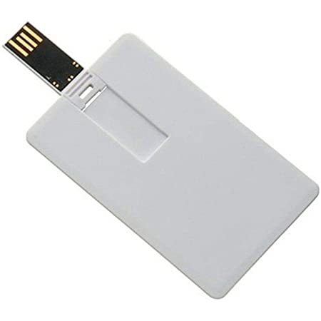 RAM USB 16GB  USB FALSH CREDIT CARD WHITE ,Flash Memory