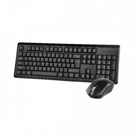 KEYBOARD WIRELESS A4TECH WIRLESS+MOUSE 1000DPI COMFORT MULTIMEDIA 4200N ,Keyboard