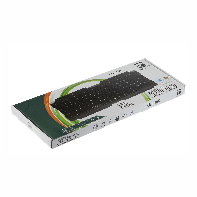 KEYBOARD ZERO KB8158 MULTIMEDIA USB ,Keyboard