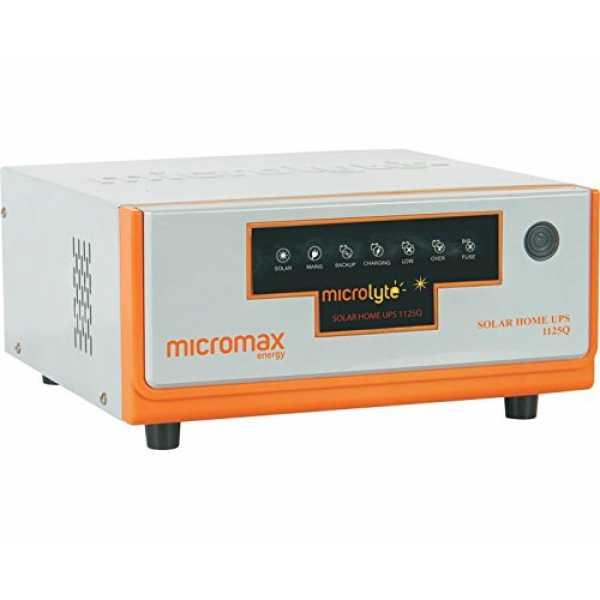 INVERTER MICROLYTE 1125Q 700W /12V /250 SOLAR 250W PWM CHARGER 20A/ DC 11-14A صناعه هنديه ,Inverters