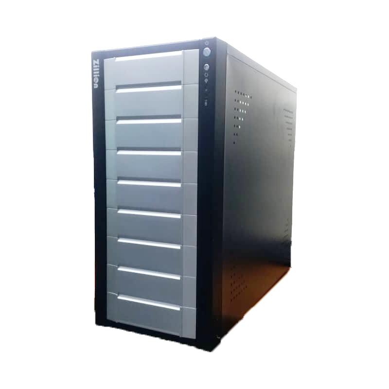 CASE ATX P4 ZILLION BLACK MID TOWER 2727D كيس بدون حماله وبدون بور سبلاي وريسيت لا تحوي على مداخل USB اماميه بدون كرتونه ,Case & Power Supply