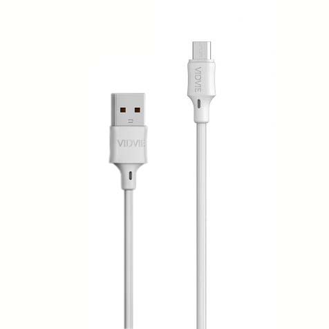 CABLE MICRO USB DATA & CHARGE VIDVIE 2.1A CB456V ,Other Smartphone Acc