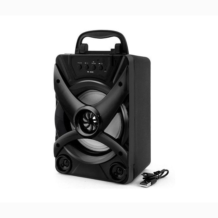 SPEAKER BLUETOOTH  FOR MP3 & MOBILE & FM & SD CARD USB M-408 ,Speakers