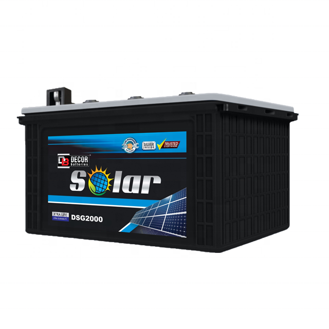 BATTERY DECOR SOLAR DSG2000 12V/200AH DEEP CYCLE  GEL ,Batteries