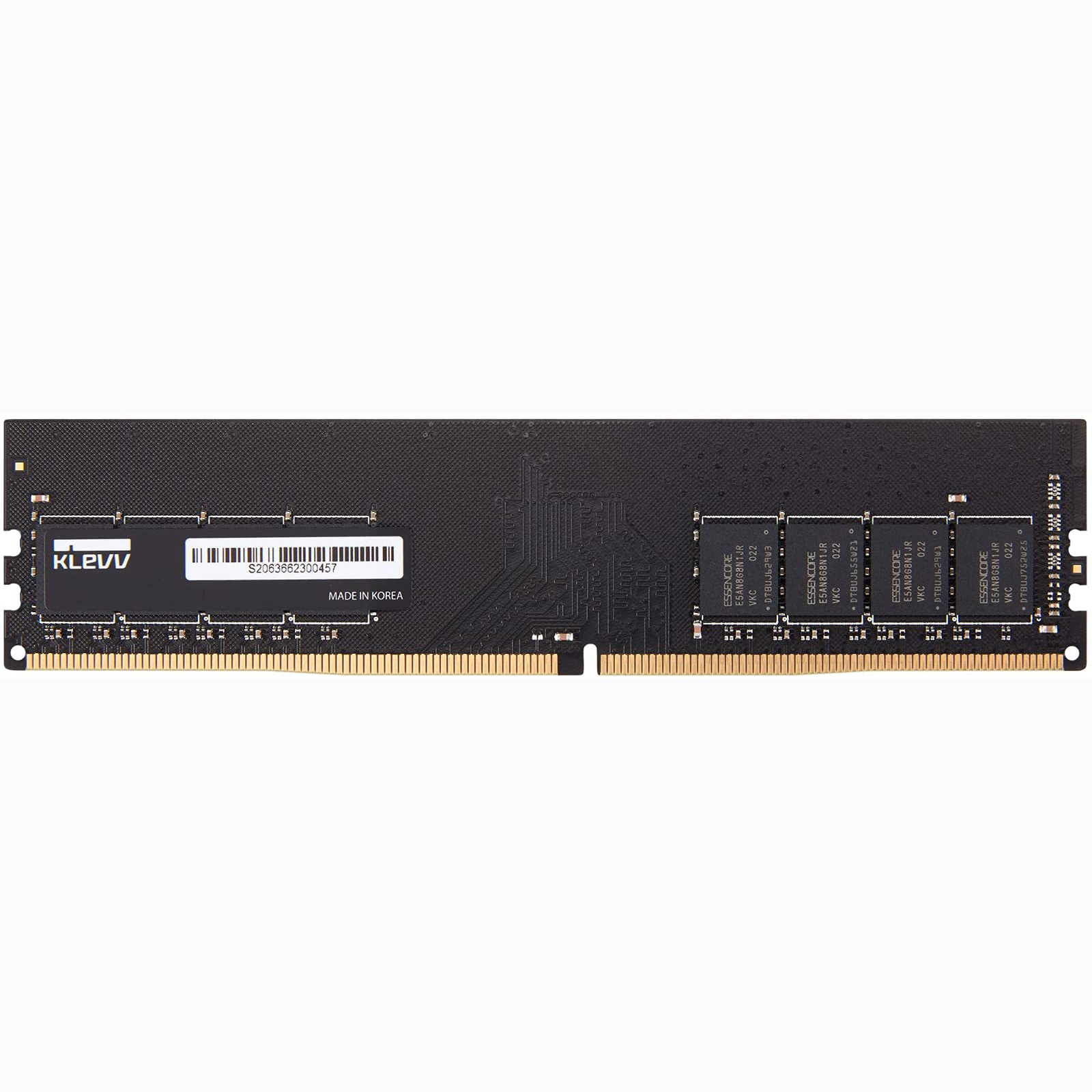 DDR4 8GB PC2666 KLEVV FOR PC 288 PIN UNBUFFERED DIMM  19-19-19-43 ,Desktop RAM
