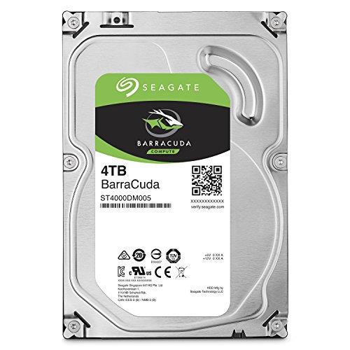 HD 4 TERRA SEAGATE BARRACUDA SATA3 256 MB 5400 RPM ,Desktop HDD