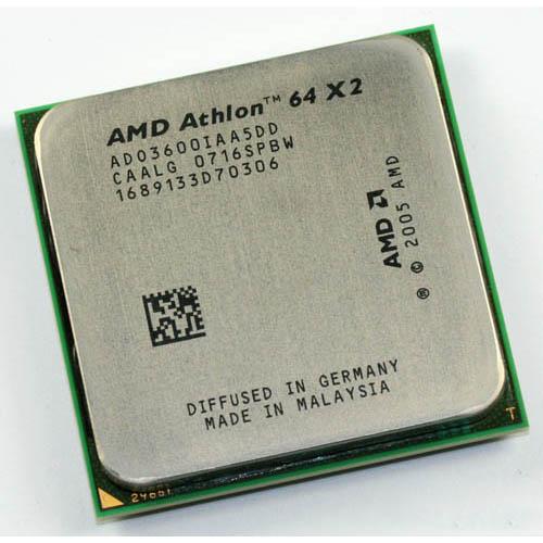 CPU AMD 64BIT ATHLON 64 X2  مستعمل ,Other Used Items